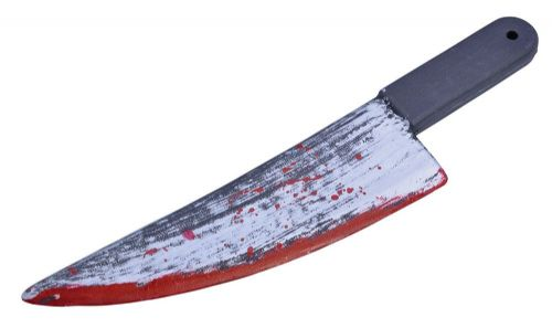 Knife Blood Splattered Knive Dagger Novelty Toy Weapon Novelty Plastic Toy